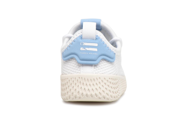 Baskets Adidas Originals Pharrell Williams Tennis Hu I Blanc vue droite