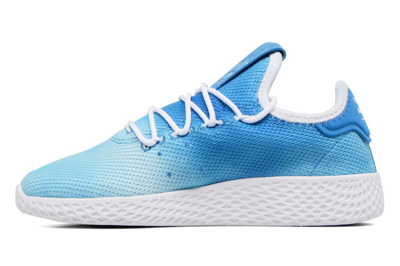 Baskets Adidas Originals Pharrell Williams Tennis Hu C Bleu vue face