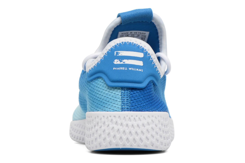 Baskets Adidas Originals Pharrell Williams Tennis Hu C Bleu vue droite