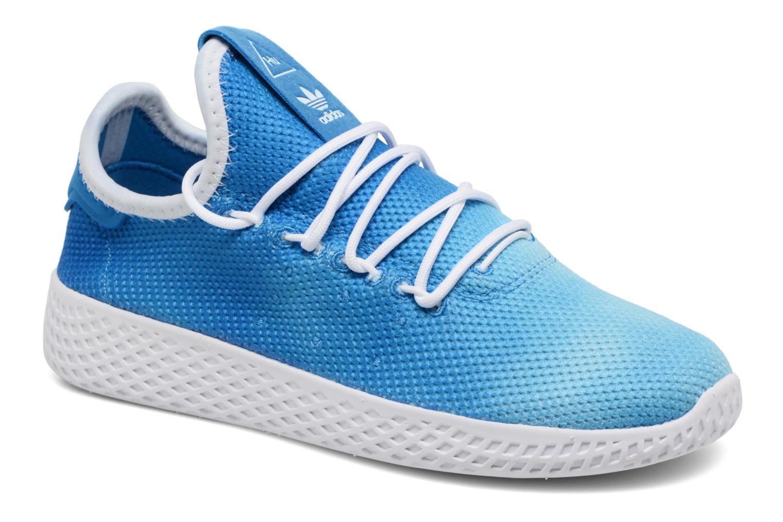 Baskets Adidas Originals Pharrell Williams Tennis Hu C Bleu vue détail/paire