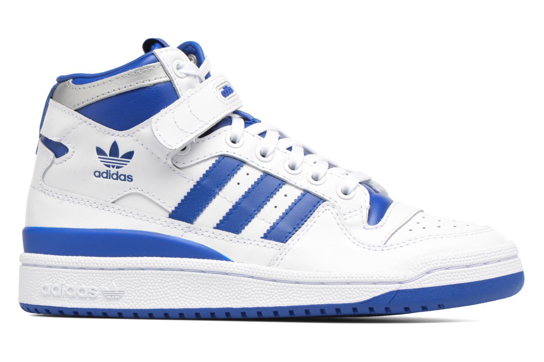 Baskets Adidas Originals Forum Mid J Bleu vue derrière