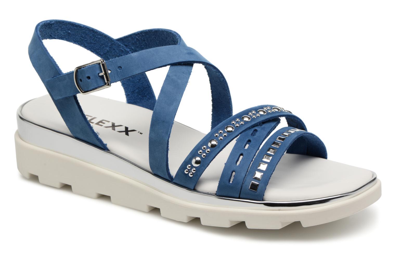 The Flexx Grimilde (Bleu) - Sandales et nu-pieds chez Sarenza (322649)