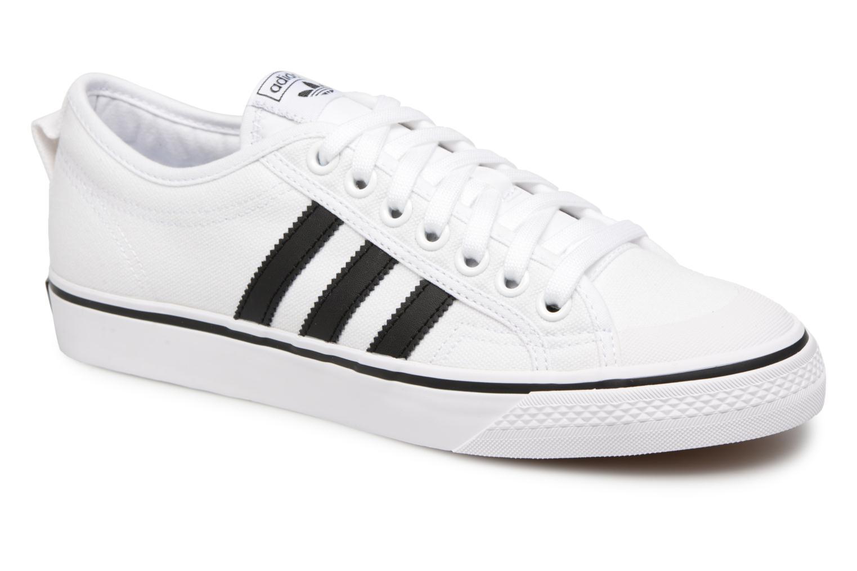 Sneakers Adidas Originals NIZZA Wit detail