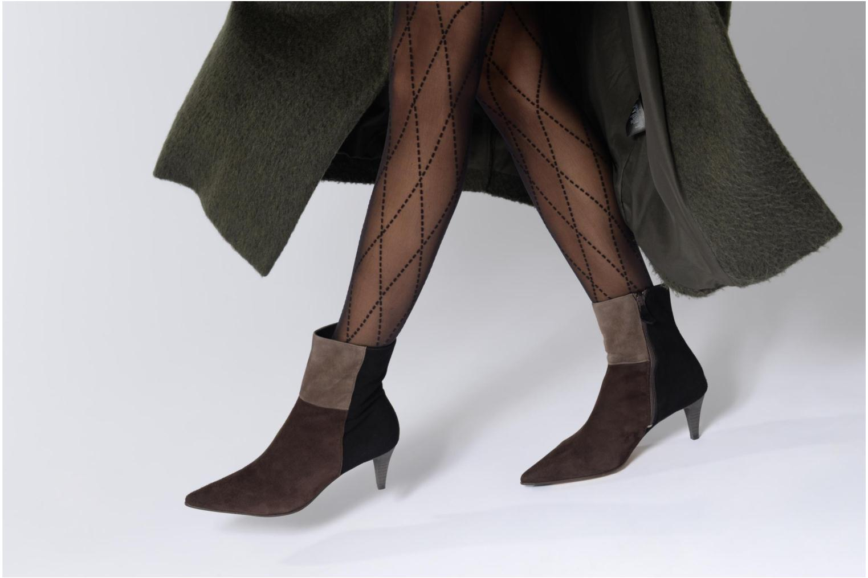 Bottines et boots Elizabeth Stuart RIMINI 300/3 Marron vue bas / vue portée sac