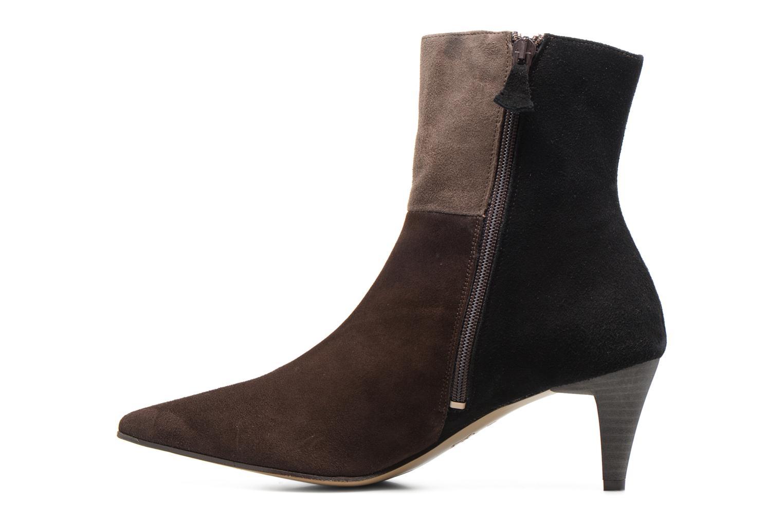 Bottines et boots Elizabeth Stuart RIMINI 300/3 Marron vue face