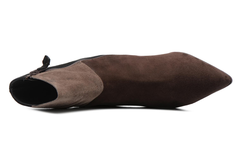 Bottines et boots Elizabeth Stuart RIMINI 300/3 Marron vue gauche