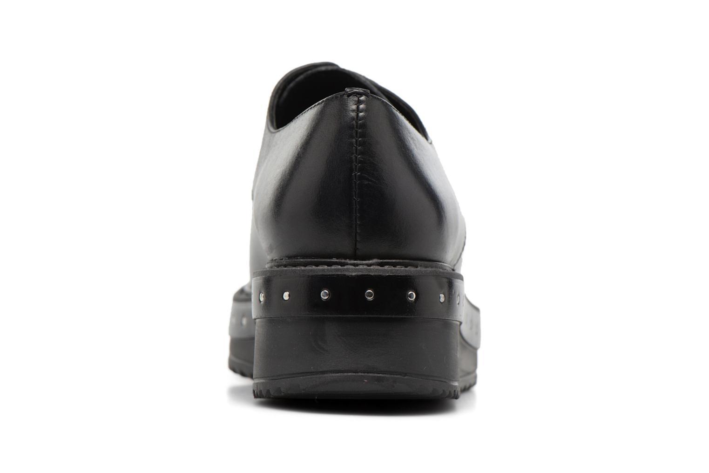 Chaussures à lacets Elizabeth Stuart URMA 304 Noir vue droite