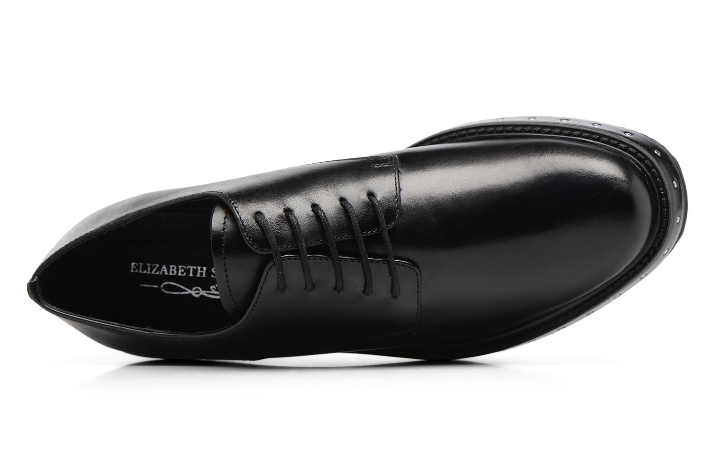 Chaussures à lacets Elizabeth Stuart URMA 304 Noir vue gauche