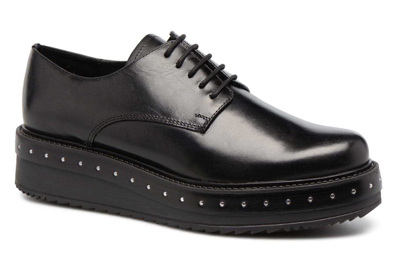 Chaussures à lacets Elizabeth Stuart URMA 304 Noir vue détail/paire