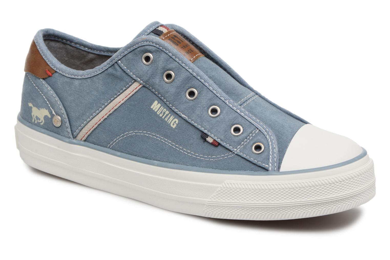 Mustang shoes Bramanda (Bleu) - Baskets chez Sarenza (322847)