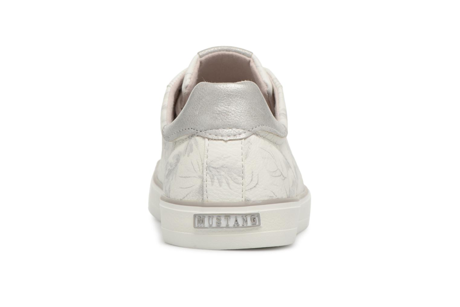 Baskets Mustang shoes Amsa Blanc vue droite