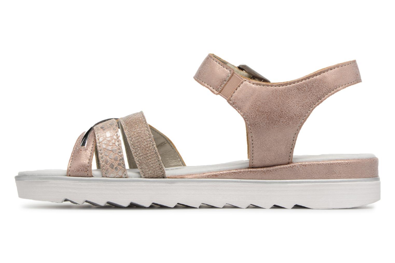 Sandals Remonte Sophia D1151 Beige front view