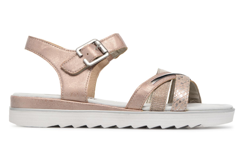 Sandales et nu-pieds Remonte Sophia D1151 Beige vue derrière