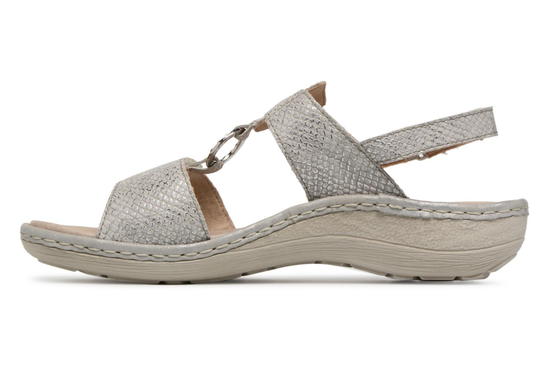 Sandals Remonte Maci D7648 Grey front view
