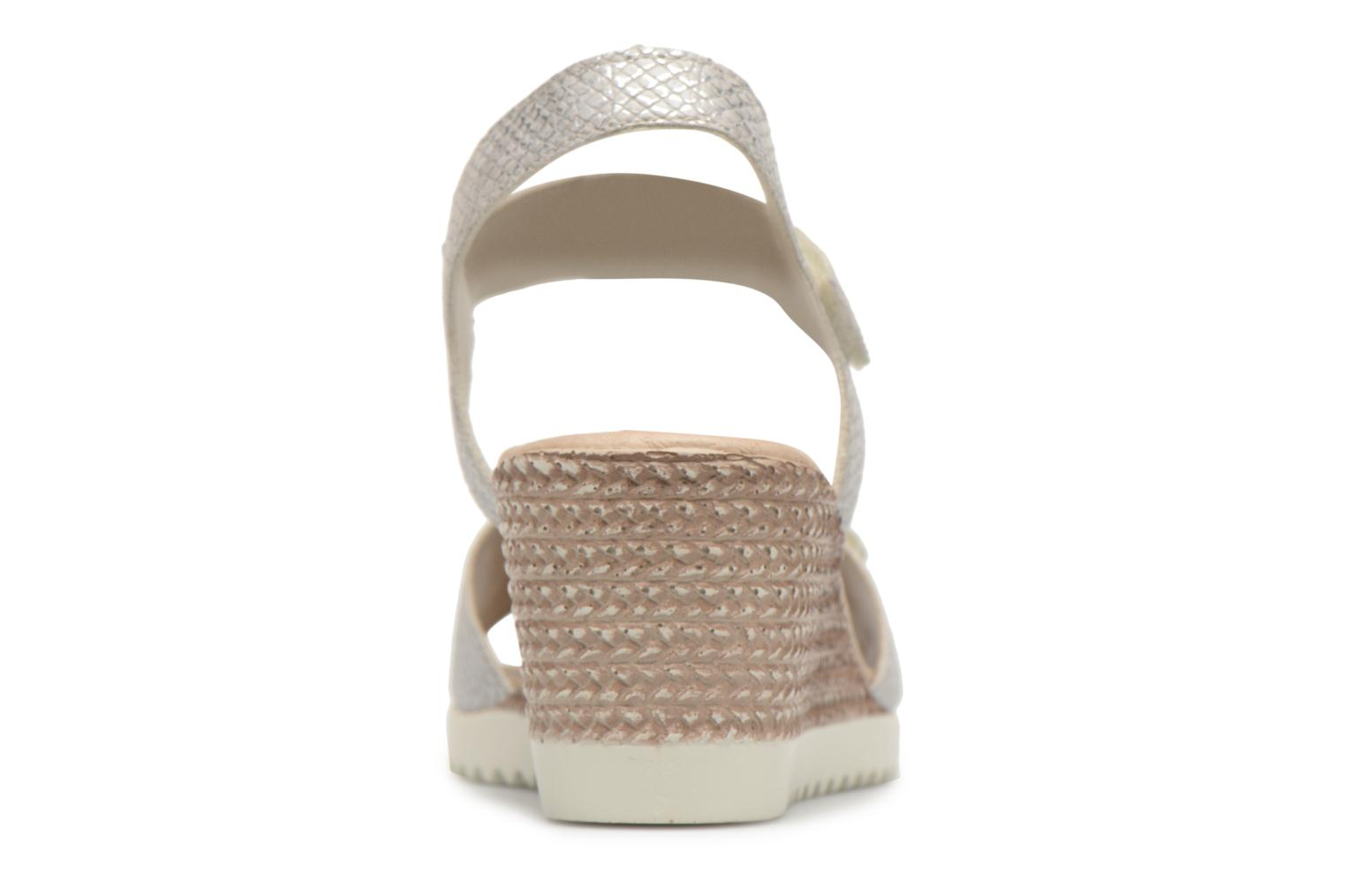 Sandals Remonte Cadee D3464 Grey view from the right