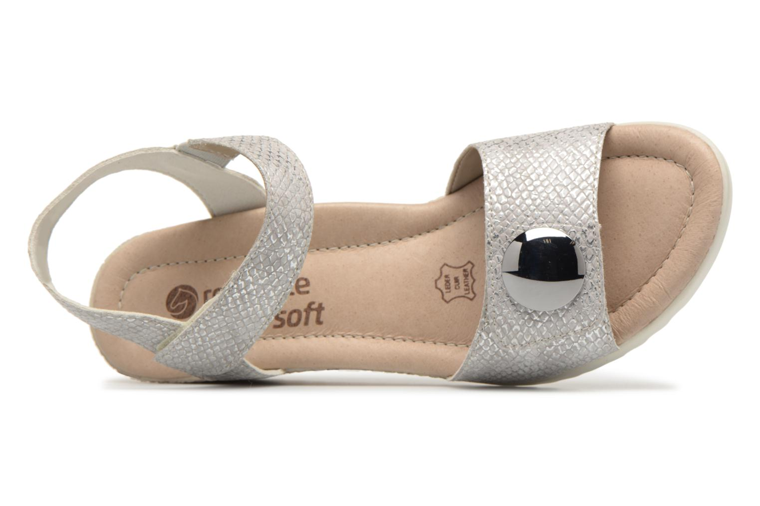 Sandals Remonte Cadee D3464 Grey view from the left
