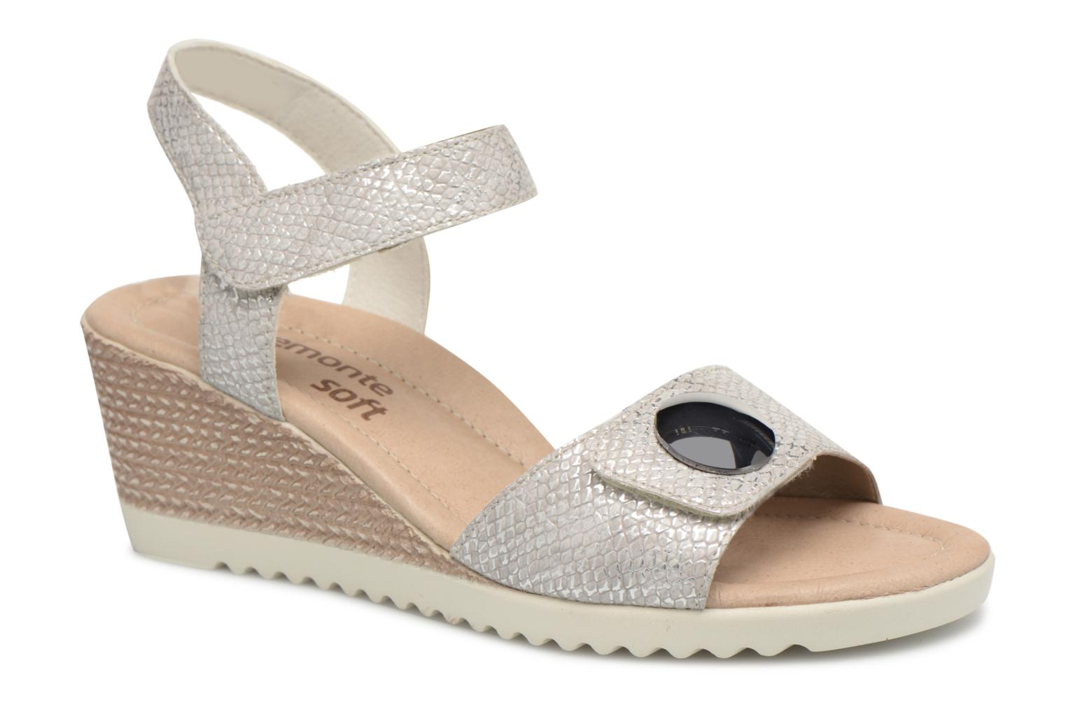 Sandals Remonte Cadee D3464 Grey detailed view/ Pair view