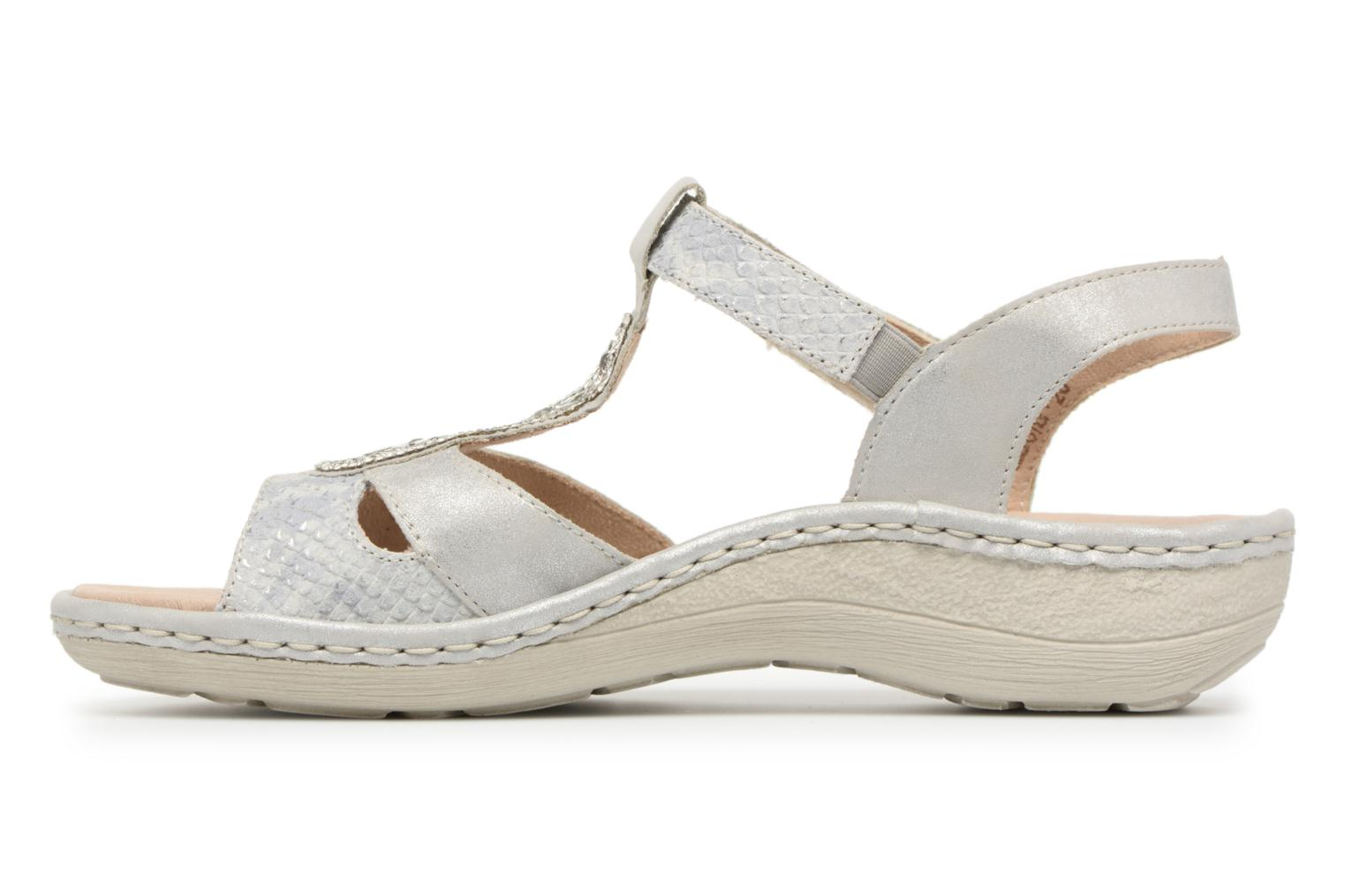 Sandals Remonte Lacee D7645 Grey front view