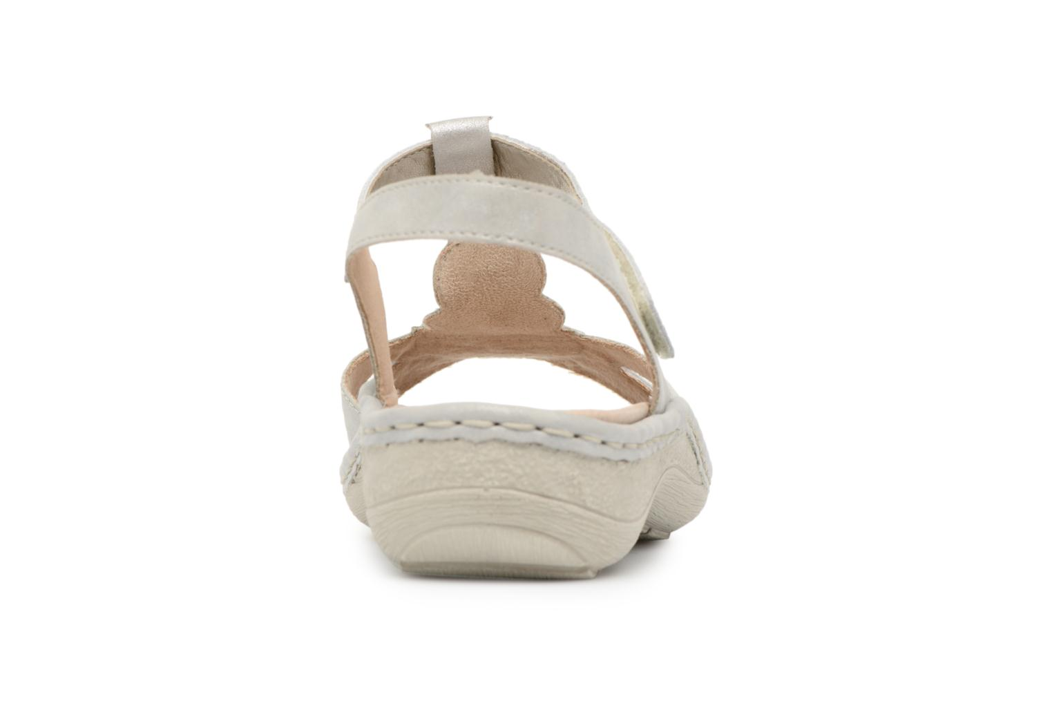 Sandals Remonte Lacee D7645 Grey view from the right