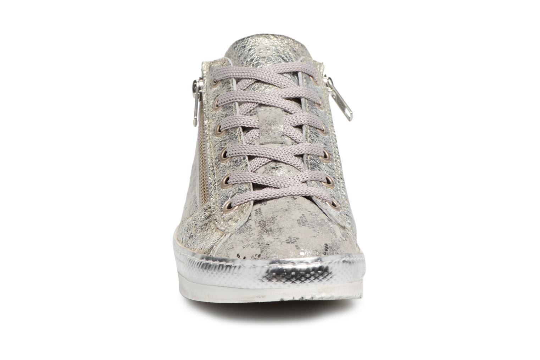 Baskets Khrio Casiova / vegas  perla Argent vue portées chaussures