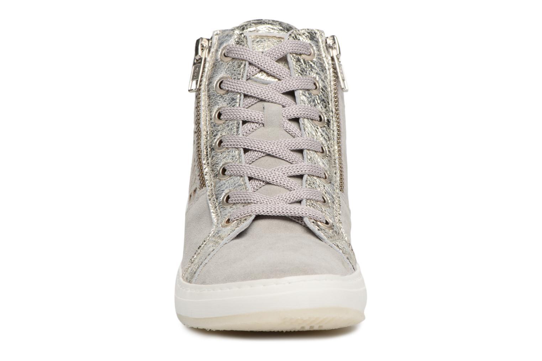 Baskets Khrio Bazimu / saio perla Gris vue portées chaussures