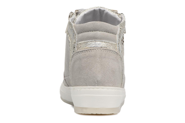 Baskets Khrio Bazimu / saio perla Gris vue droite
