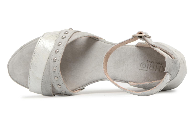 Sandales et nu-pieds Khrio Sokemo / saio perla Gris vue gauche