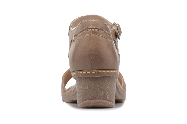 Sandales et nu-pieds Khrio Paorla mohair taupe Beige vue droite