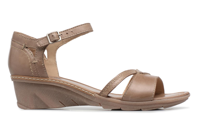 Sandales et nu-pieds Khrio Paorla mohair taupe Beige vue derrière