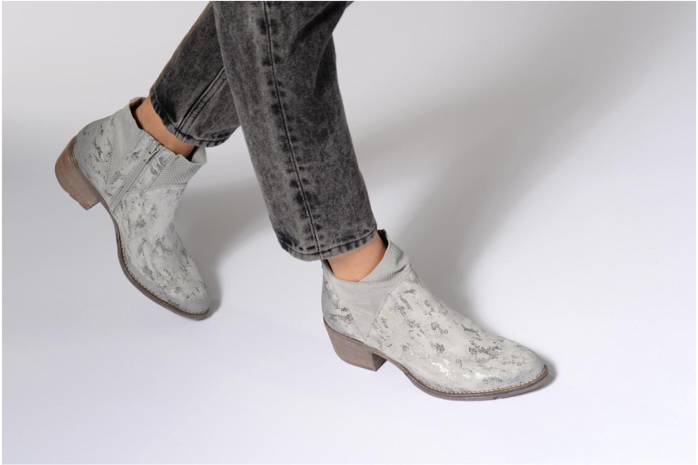 Bottines et boots Khrio Boceko / vegas perla Gris vue bas / vue portée sac