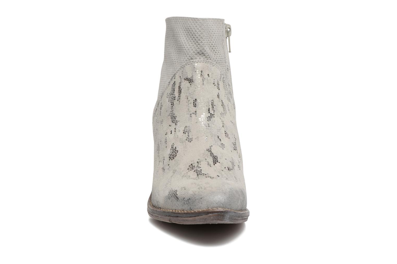 Bottines et boots Khrio Boceko / vegas perla Gris vue portées chaussures