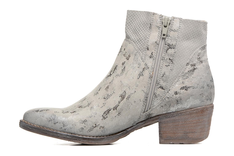 Bottines et boots Khrio Boceko / vegas perla Gris vue face