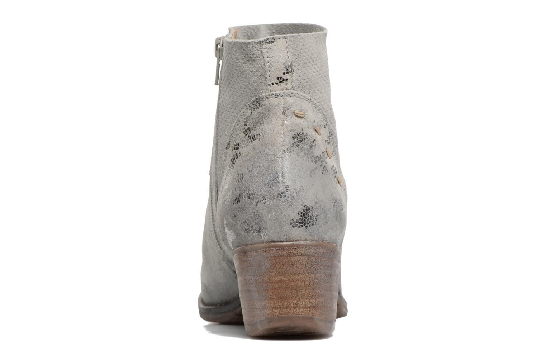 Bottines et boots Khrio Boceko / vegas perla Gris vue droite