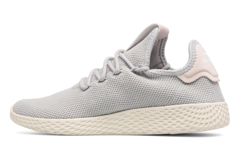 Baskets Adidas Originals Pharrel Williams Tennis Hu W Gris vue face