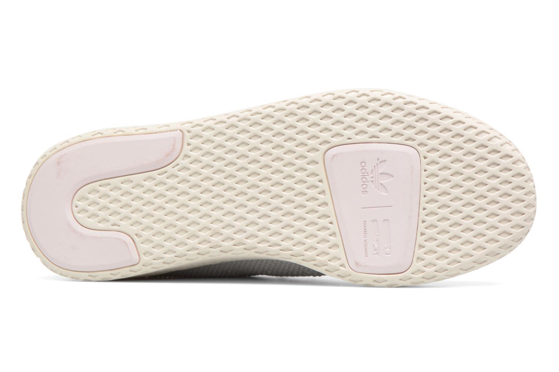 Sneaker Adidas Originals Pharrel Williams Tennis Hu W grau ansicht von oben