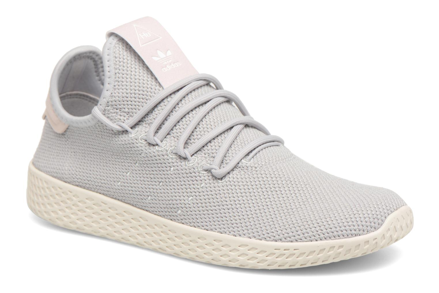Sneaker Adidas Originals Pharrel Williams Tennis Hu W grau detaillierte ansicht/modell