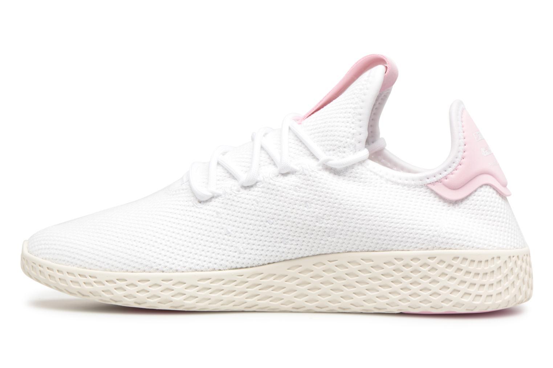 Sneaker Adidas Originals Pharrel Williams Tennis Hu W weiß ansicht von vorne