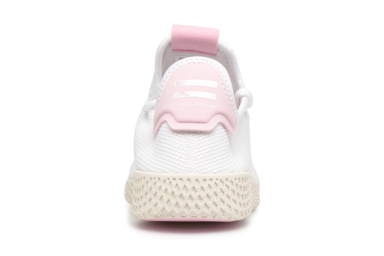 Sneaker Adidas Originals Pharrel Williams Tennis Hu W weiß ansicht von rechts