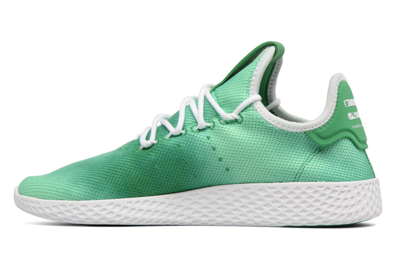 Sneakers Adidas Originals Pharrell Williams Hu Holi Tennis Hu Verde immagine frontale