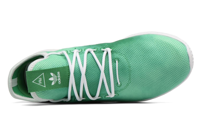 Sneakers Adidas Originals Pharrell Williams Hu Holi Tennis Hu Verde immagine sinistra