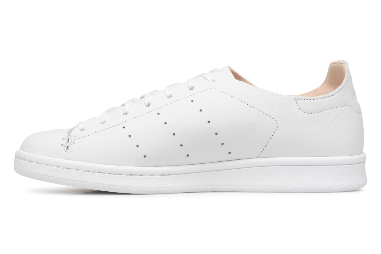 Sneakers Adidas Originals Stan Smith Lea Sock Wit voorkant