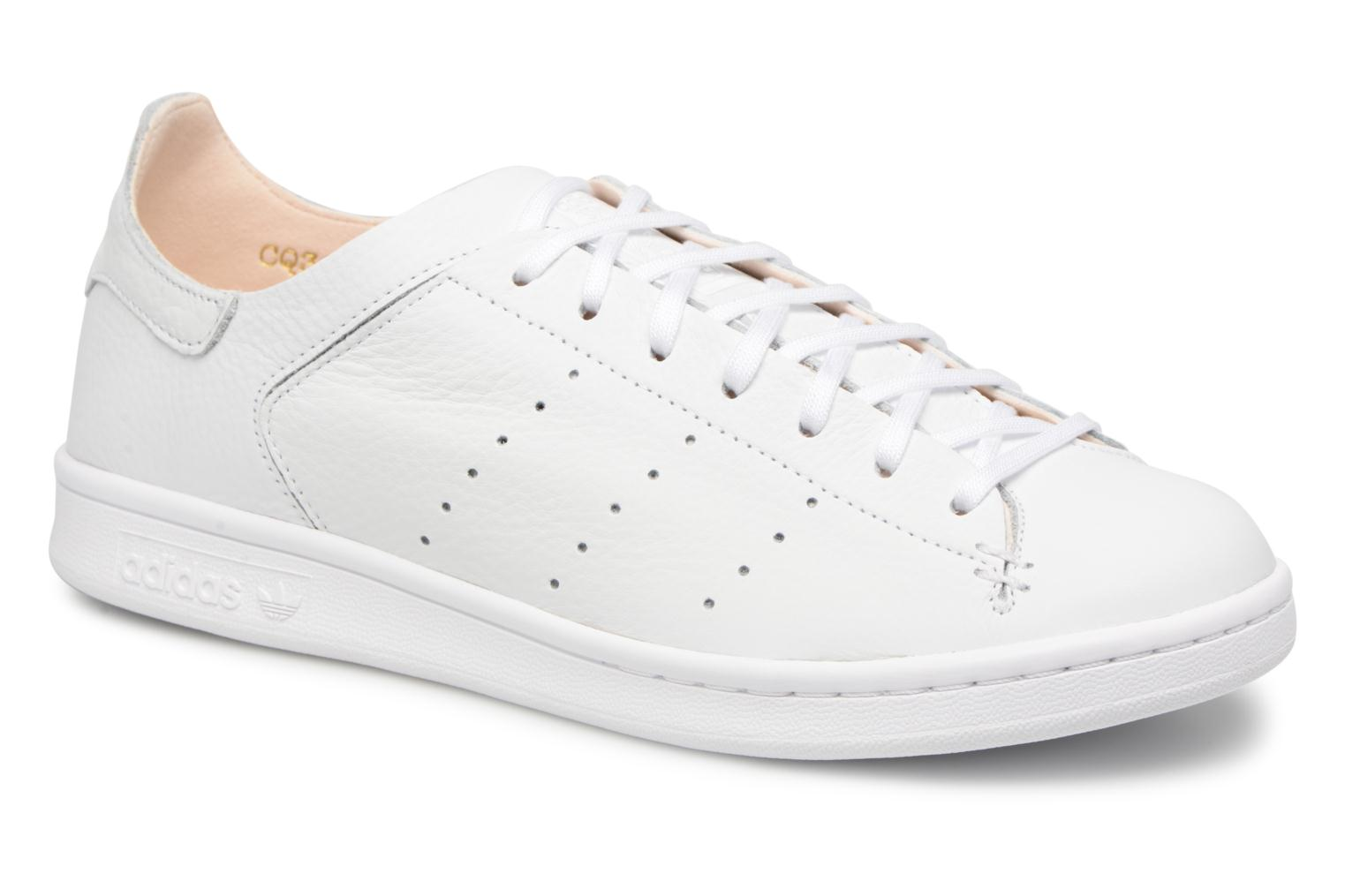 adidas originals stan smith lea strumpf (weißen) trainer chez sarenza
