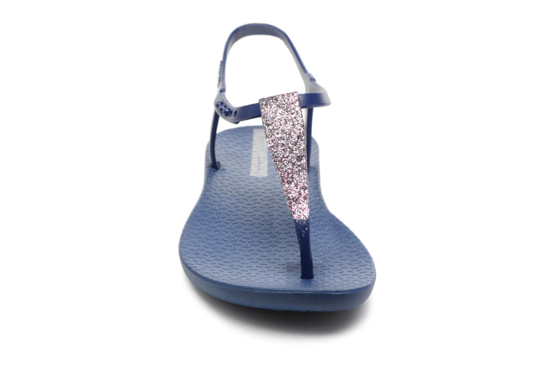 Sandalen Ipanema Class Pop II blau schuhe getragen