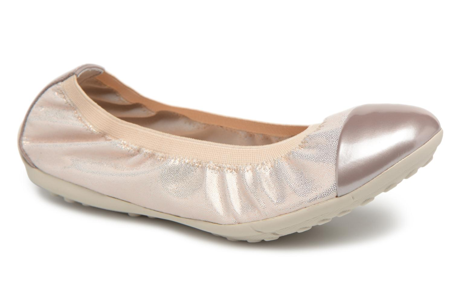 Ballet pumps Geox J Piuma Bal A  J82B0A Beige detailed view/ Pair view