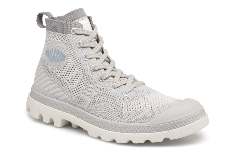 Pampas Lite W Kn - Chaussures Pour Femmes / Palladium Gris BwebM7U71