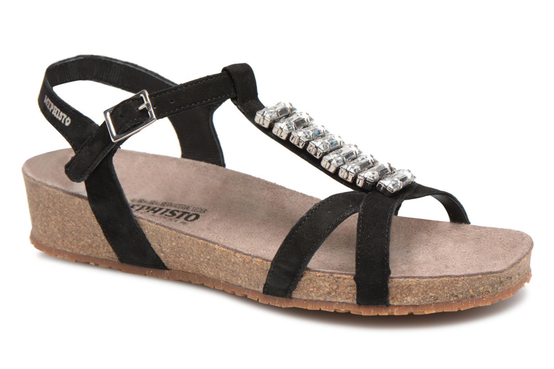 Mephisto Ibella (Noir) - Sandales et nu-pieds chez Sarenza (323650)