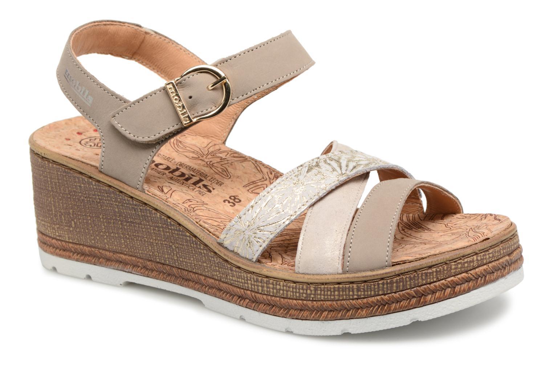 Grandes descuentos últimos zapatos Mephisto Benita (Gris) - Sandalias Descuento
