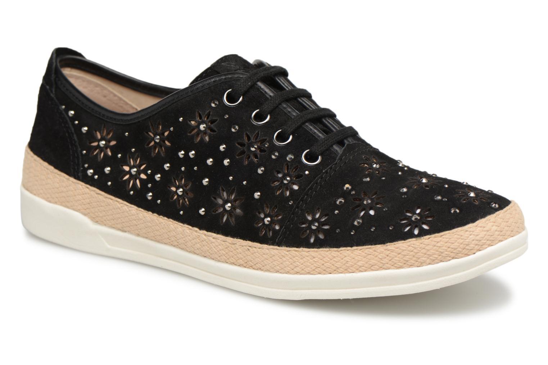 Zapatos Zapatos Zapatos de hombres y mujeres de moda casual Caprice Ludina (Negro) - Deportivas en Más cómodo 116986