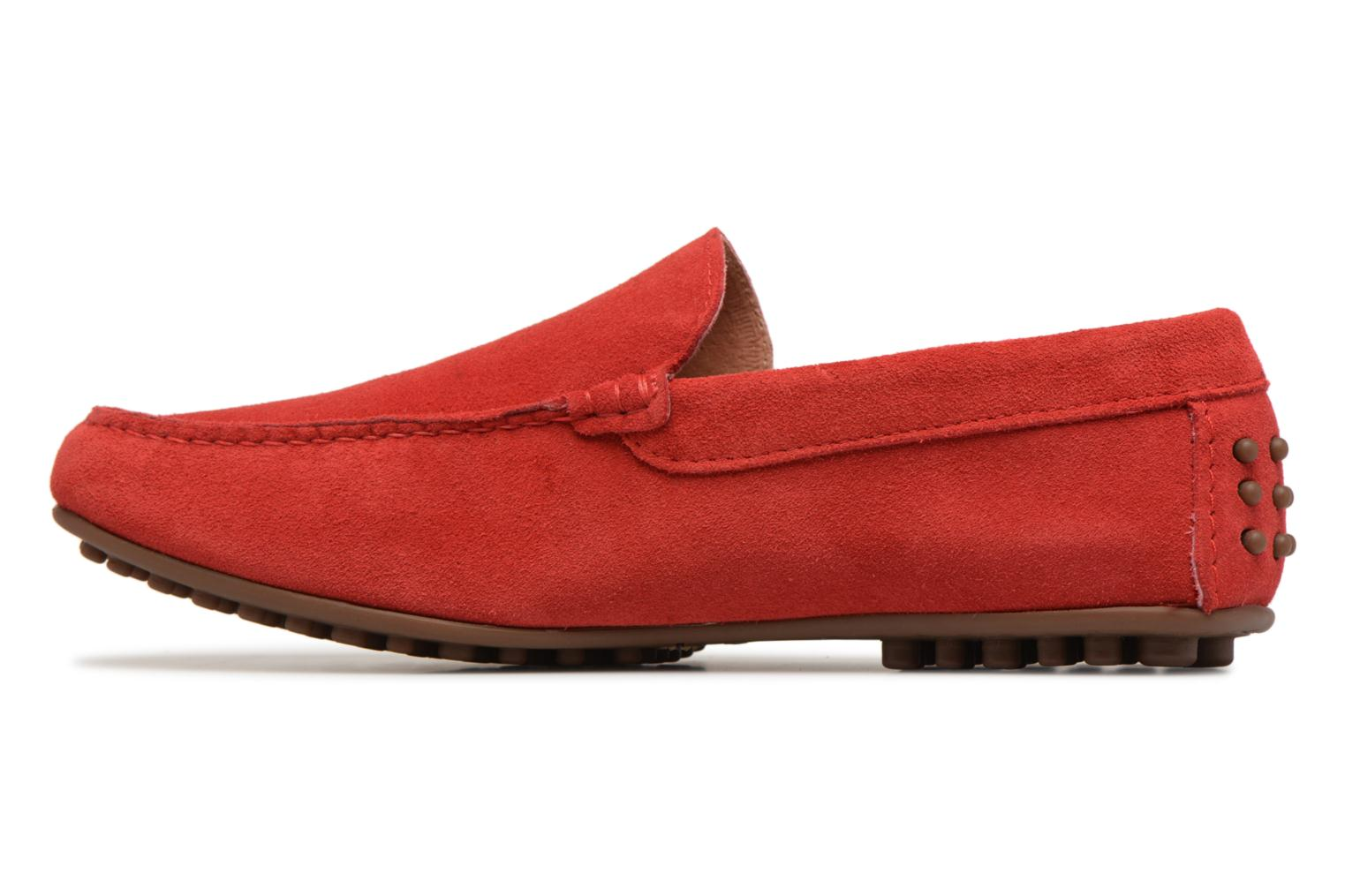 Loafers Marvin&co Suttino Red front view