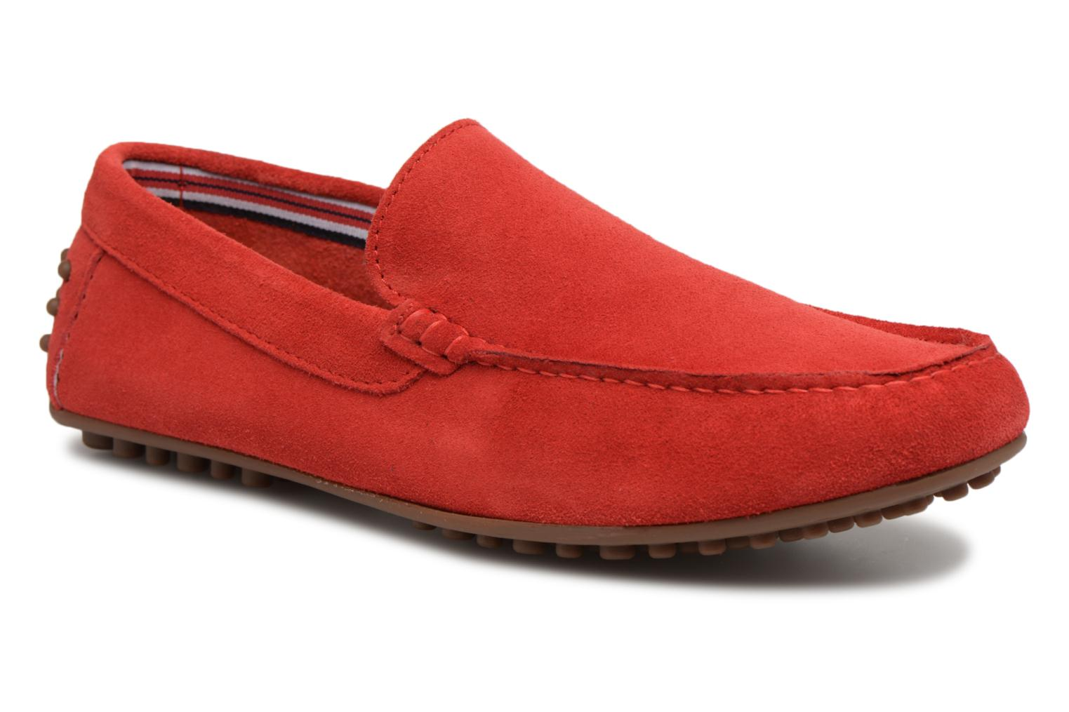Loafers Marvin&co Suttino Red detailed view/ Pair view